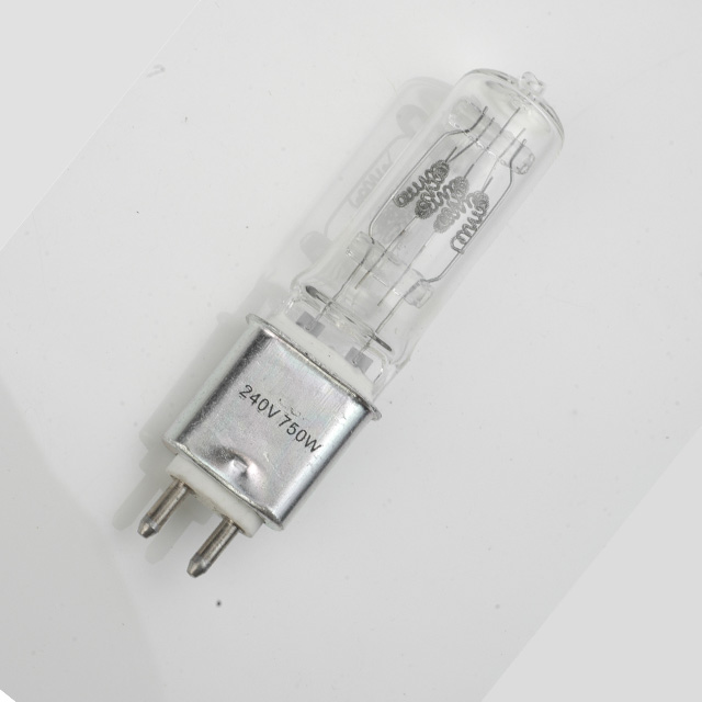 Halogen lamp 230V750W G9.5