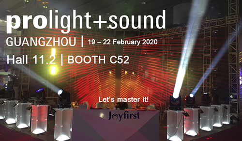 Prolight + Sound Guangzhou 2020