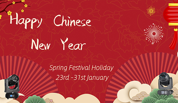 Spring Festival Holidays Date 2020