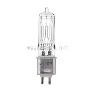 Halogen lamp high color temperature FEL 120V 1000W G9.5 / FEP240v 1000w